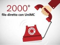 2000+   Filo diretto con UniMc