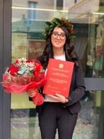 Congratulzioni alla studentessa Unimc SOFIA FEDERICI!