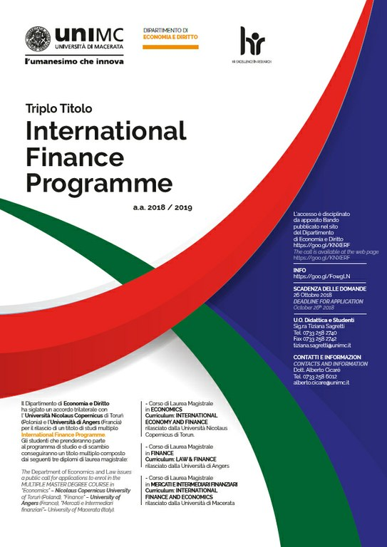 International Finance Programme.